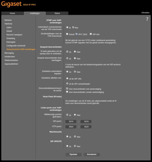 Software   Firmware - Gigaset pro